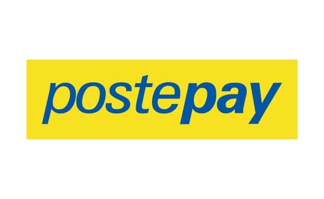 PostePay, uno dei metodi di pagamento nei casino